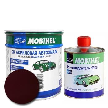 Изображение товара Автоэмаль MOBIHEL 2К 180 гранат и Отвердитель MOBIHEL 2К 9900
