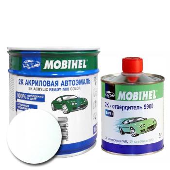 Изображение товара Автоэмаль MOBIHEL 2К 201 белый и Отвердитель MOBIHEL 2К 9900