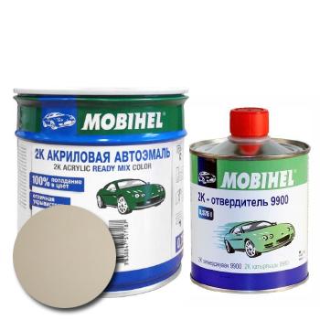Изображение товара Автоэмаль MOBIHEL 2К 215 сафари и Отвердитель MOBIHEL 2К 9900