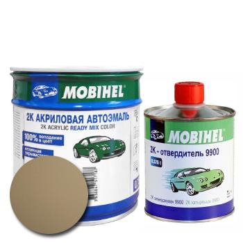 Изображение товара Автоэмаль MOBIHEL 2К 235 бежевый и Отвердитель MOBIHEL 2К 9900