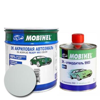 Изображение товара Автоэмаль MOBIHEL 2К 240 белая и Отвердитель MOBIHEL 2К 9900