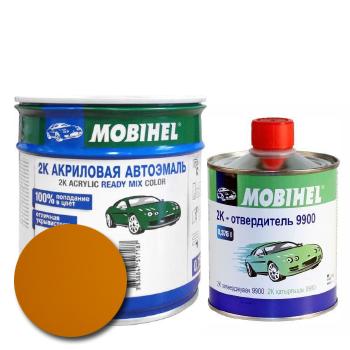 Изображение товара Автоэмаль MOBIHEL 2К 299 такси и Отвердитель MOBIHEL 2К 9900