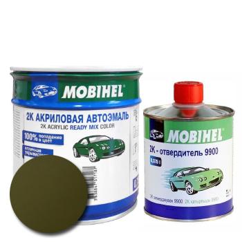 Изображение товара Автоэмаль MOBIHEL 2К 303 хаки и Отвердитель MOBIHEL 2К 9900