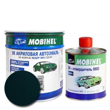 Изображение товара Автоэмаль MOBIHEL 2К 307 зелёный сад и Отвердитель MOBIHEL 2К 9900