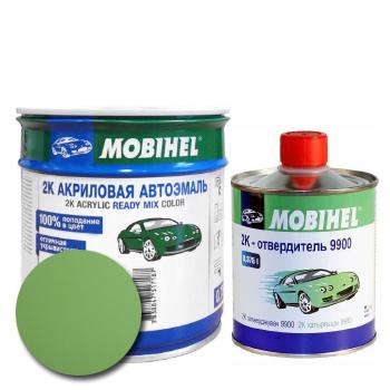 Изображение товара Автоэмаль MOBIHEL 2К 325 светло-зелёная и Отвердитель MOBIHEL 2К 9900 (Снят с производства)