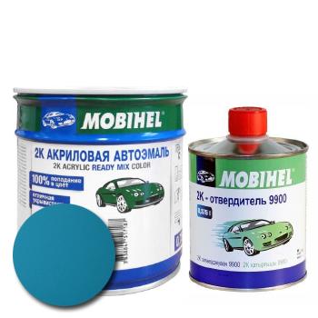 Изображение товара Автоэмаль MOBIHEL 2К 425 адриатика и Отвердитель MOBIHEL 2К 9900