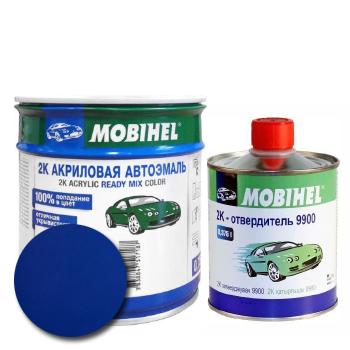 Изображение товара Автоэмаль MOBIHEL 2К 449 океан и Отвердитель MOBIHEL 2К 9900