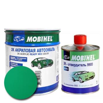 Изображение товара Автоэмаль MOBIHEL 2К 564 кипарис и Отвердитель MOBIHEL 2К 9900