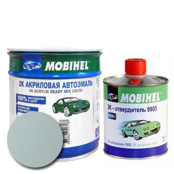 Изображение товара Автоэмаль MOBIHEL 2К 671 светло-серая и Отвердитель MOBIHEL 2К 9900