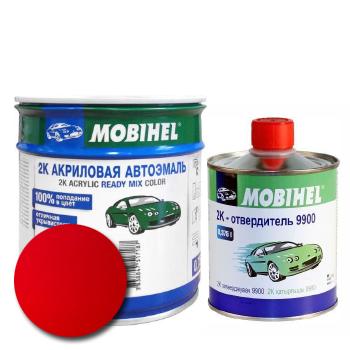 Изображение товара Автоэмаль MOBIHEL 2К MAZDA NU VINTAGE RED и Отвердитель MOBIHEL 2К 9900