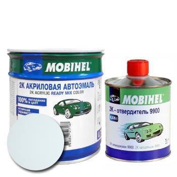 Изображение товара Автоэмаль MOBIHEL 2К MERCEDES 147 ARKTIK WEISS и Отвердитель MOBIHEL 2К 9900