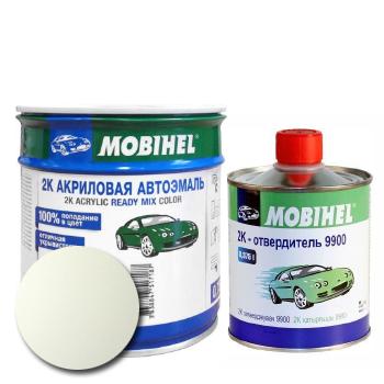 Изображение товара Автоэмаль MOBIHEL 2К VWL90E ALPIN WIESS и Отвердитель MOBIHEL 2К 9900