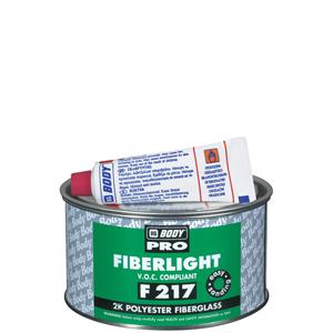 Изображение товара Шпатлёвка HB BODY PRO F217 FiberLight 0,5л