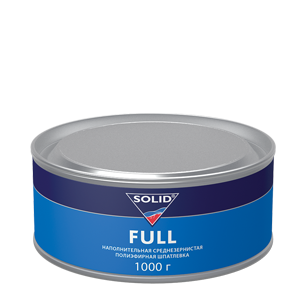Изображение товара Шпатлёвка SOLID FULL 1кг среднезернистая