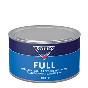 Изображение товара Шпатлёвка SOLID FULL 1,8кг среднезернистая