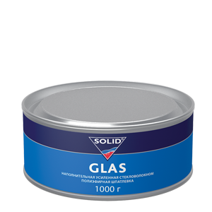 Изображение товара Шпатлёвка SOLID GLAS 1кг cо стекловолокном