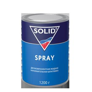 Изображение товара Шпатлёвка SOLID Spray 1,2кг жидкая