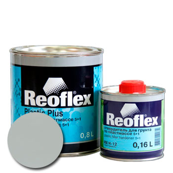 Изображение товара Грунт по пластику 2К REOFLEX 5+1 (0,8л) (Комплект)