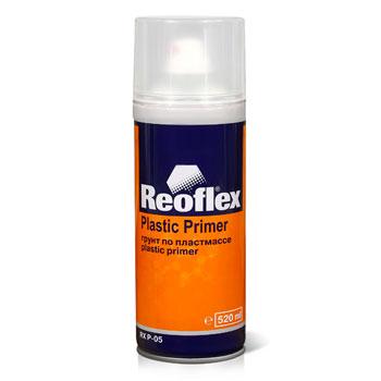 Изображение товара Грунт-спрей по пластику Reoflex прозрачный (520мл) быстросохнущий