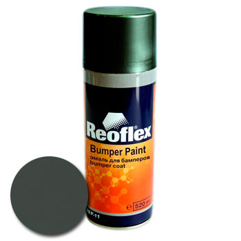 Изображение товара Краска-спрей Reoflex для бамперов (графит)