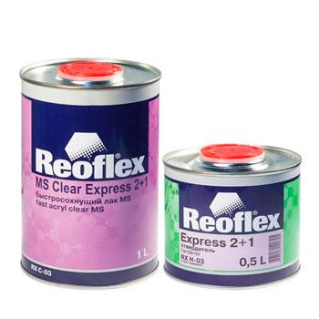 Изображение товара Лак Reoflex Express 2+1 (1л) акриловый (c отвердителем)