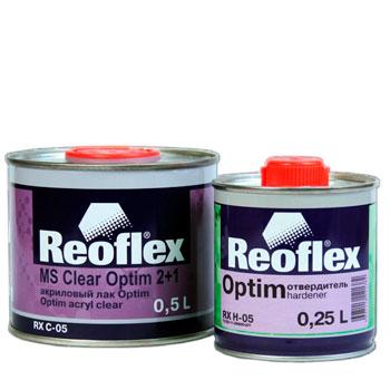 Изображение товара Лак REOFLEX Optim MS 2:1 акриловый (0.5л) с отвердителем