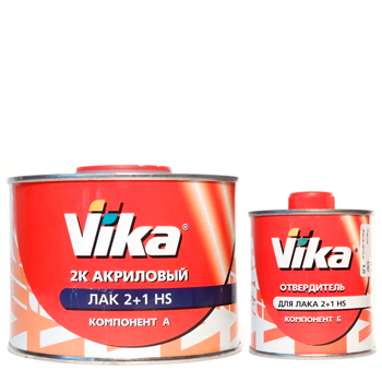 Изображение товара Лак VIKA  AK 2:1 HS 2K 0,5л и 0,25л отв.