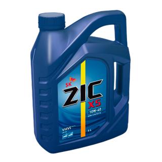 Изображение товара Масло моторное ZIC X5 10W-40 п/с 4л