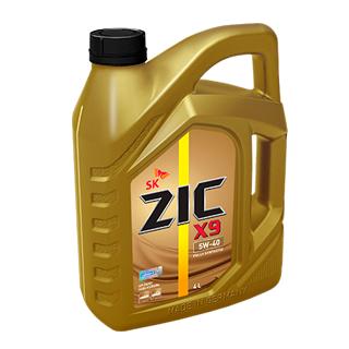 Изображение товара Масло моторное ZIC X9 5W-40 синтетическое 4л