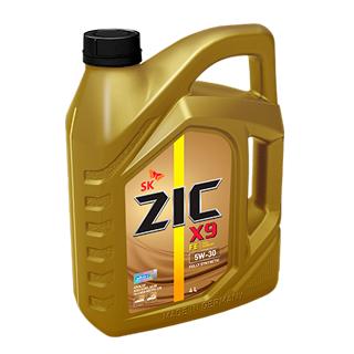 Изображение товара Масло моторное ZIC X9 FE 5W-30 синтетическое 4л