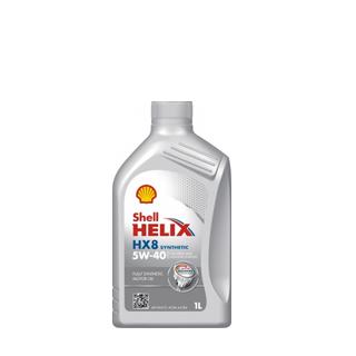 Изображение товара Масло Shell Plus НХ8 SAE 5W40, син, 1л.