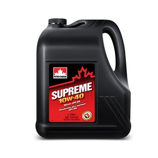 Изображение товара Масло мот. PETRO-CANADA Supreme SAE 10W40 API SN, п/с, 4 л.