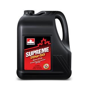 Изображение товара Масло мот. PETRO-CANADA Supreme SAE 20W50 API SN, п/с, 4 л.