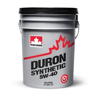 Изображение товара Масло мот. PETRO-CANADA Duron Synthetic SAE 5W40 API CI-4, син, 20 л.