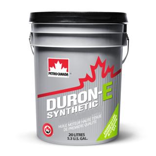 Изображение товара Масло мот. PETRO-CANADA Duron E Synthetic SAE 10W40 API CI-4, син, 20 л.