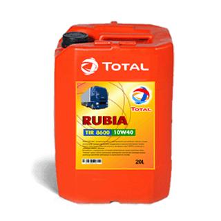 Изображение товара TOTAL Масло Rubia TIR 8600 10W40 п/с, 20л