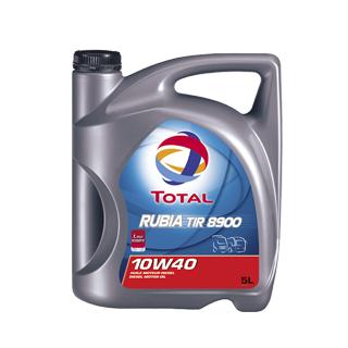 Изображение товара TOTAL Масло Rubia TIR 8900 10W40 п/с, 5л