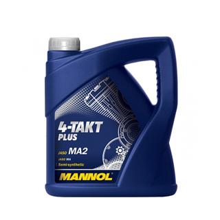 Изображение товара MANNOL 4-Tact PLUS п/с,4л