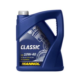 Изображение товара MANNOL CLASSIC 10W40 п/с 5л.
