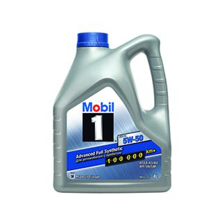 Изображение товара Масло MOBIL 1  5W50 синт, 4л