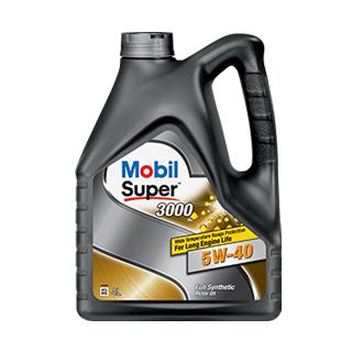 Изображение товара Масло MOBIL SUPER 3000 X1 5w-40 син, 4л