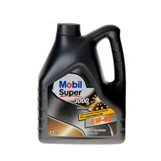 Изображение товара Масло MOBIL SUPER 3000 Х1 DIESEL 5w-40 син, 4л