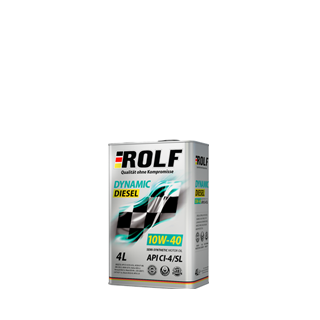 Изображение товара ROLF Dinamic Diesel SAE 10W40, API CL/SL (п/с),1л