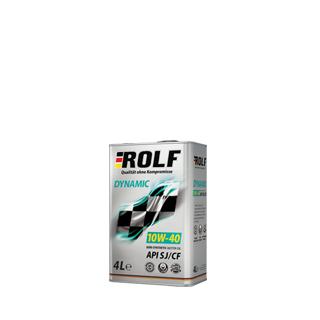 Изображение товара ROLF Dinamic SAE 10W40, API SL/CF (п/с), 1л
