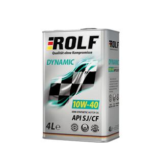 Изображение товара ROLF Dinamic SAE 10W40, API SL/CF (п/с), 4л