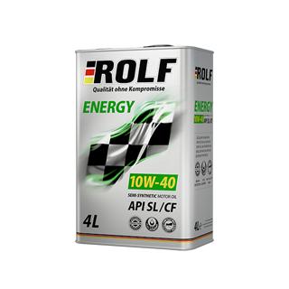 Изображение товара ROLF Energy SAE 10W40, API SL/CF (п/с), 4л