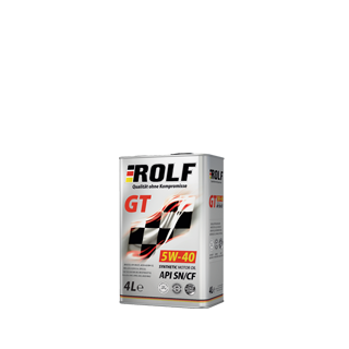 Изображение товара ROLF GT SAE 5W40, API SN/CF (син), 1л
