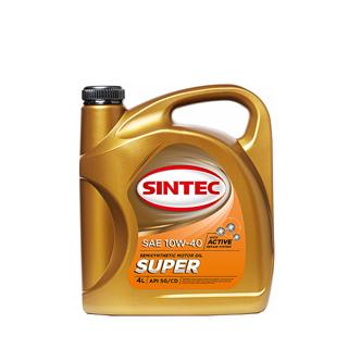 Изображение товара Масло моторное SINTEC/SINTOIL Супер 10w-40 п/с 4л