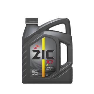 Изображение товара Масло моторное ZIC X7 LS 10W-40 син. 4л