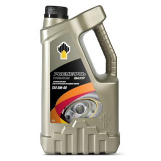 Изображение товара Масло моторное Роснефть Премиум SAE 5W40 SM/CF, синтетическое, 4л.